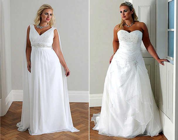 Покрой свадебного платья должен подчеркивать достоинства и скрывать недостатки фигуры