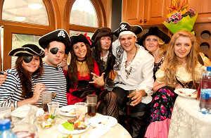 Пиратская тема для вечеринки