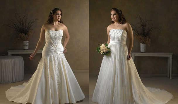 Свадебное платье должно подчёркивать пропорции фигуры
