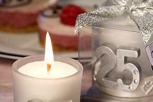 Сценарий празднования 25 годовщины свадьбы дома