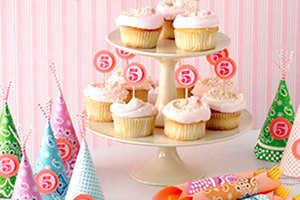 Используйте цифры для торта, кексов, шапочек