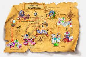 Конкурс пиратская карта