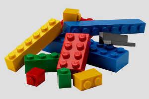 Лего наперегонки