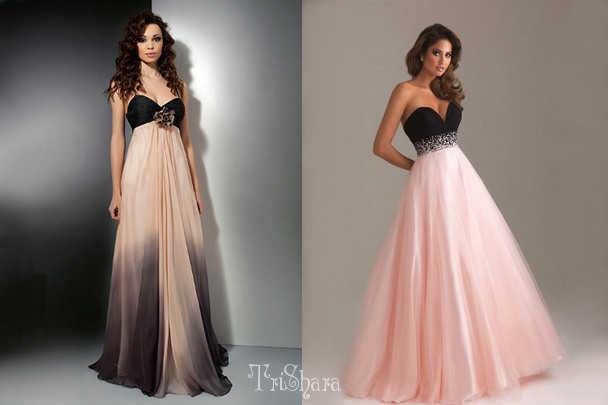 Выбор прически под платье