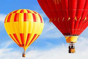 Полет на воздушном шаре это тоже презент