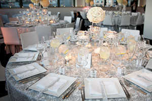 Серебряная свадьба в ресторане