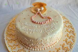 Торт родителям на годовщину свадьбы 30 лет