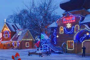 Усадьба Деда Мороза в Москве