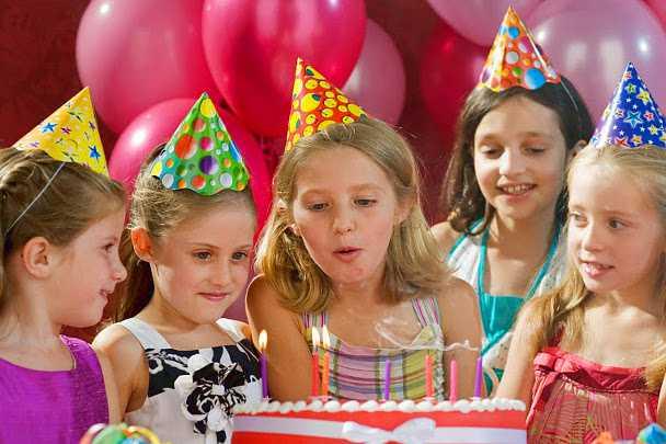 Веселые детские конкурсы на день рождения для девочек