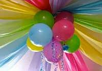 Украшение комнаты на детский день рождения