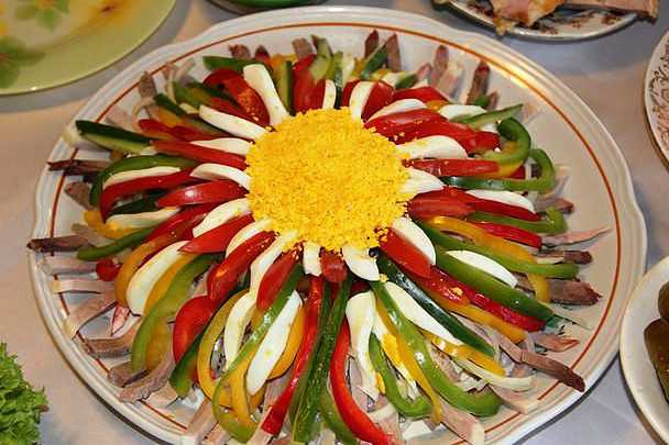 Овощной салют