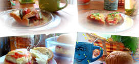 Горячие праздничные бутерброды в микроволновке – быстро, вкусно, красиво