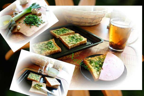 Горячие бутерброды, приготовленные в духовке