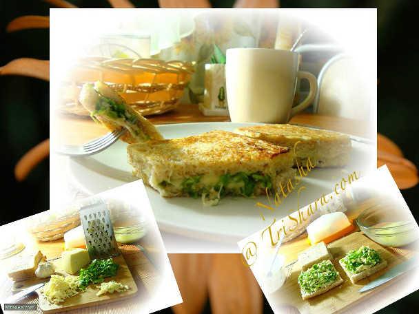 двойные бутерброды с сыром