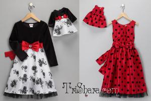Платья для именинницы и куклы