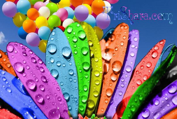 Цветочный сценарий дня рождения девочки 4-7 лет