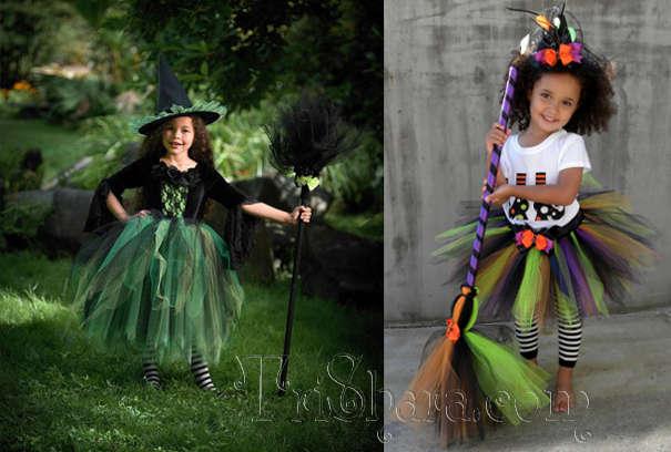 Детские костюмы ведьм на Хэллоуин