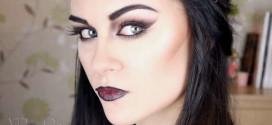 Учимся делать макияж вампира, обучающие видео и фото