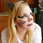 Создание образа кошки на празднование Хэллоуина