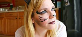 Яркий образ кошки на Хэллоуин – эффектное перевоплощение