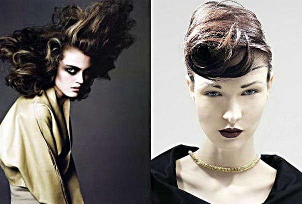 Идеи ассиметричной укладки волос для образа ведьмы