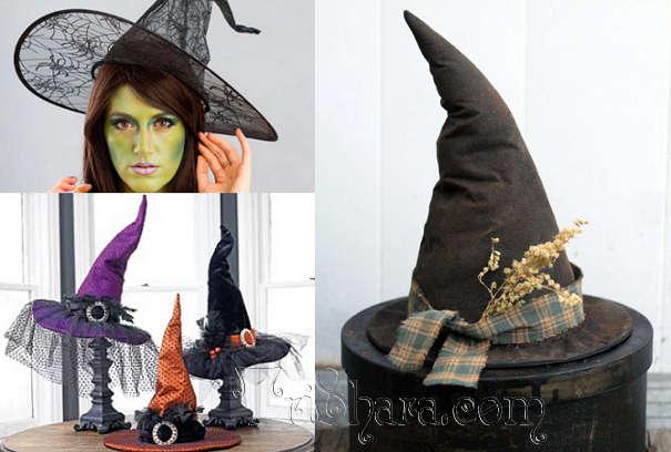 Шляпы ведьминские для Хэллоуина