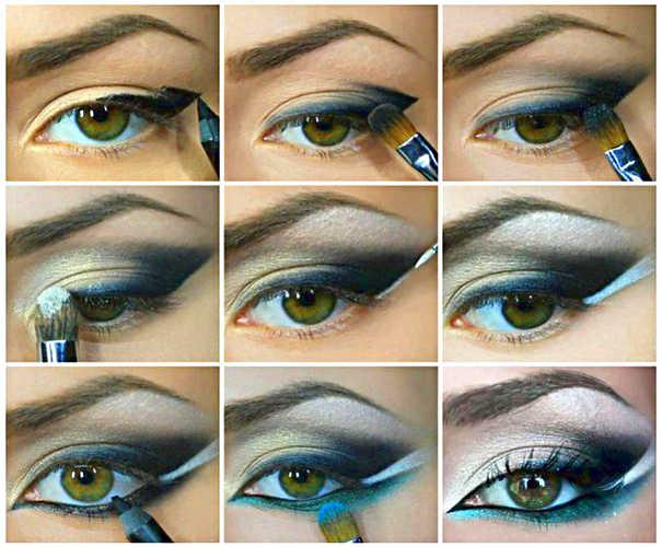 макияж для глаз смоки-айс пошагово