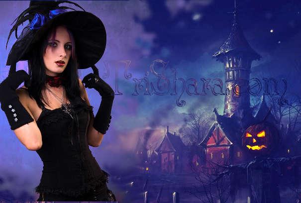 Создание образа ведьмы на Хэллоуин