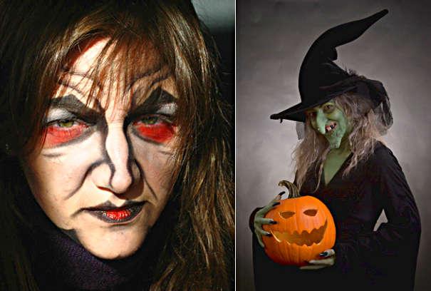 Классический образ ведьмы