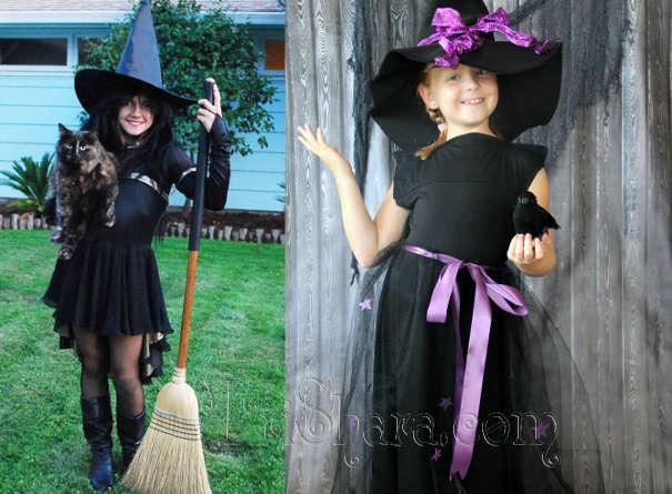 Детские образы ведьмы