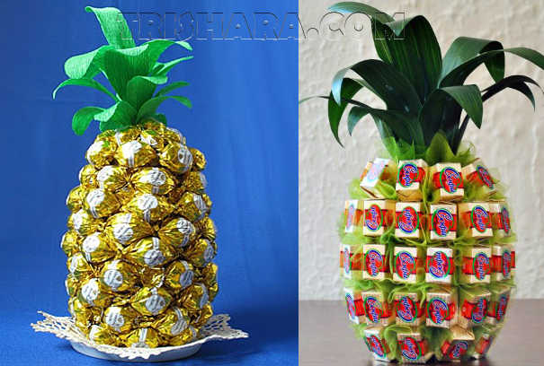 Конфетные ананасы