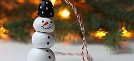 Креативное украшение новогодней ёлки: делаем игрушки своими руками