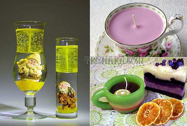 Чашки и бокалы для заливки свечей