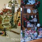 Снежные деревушки - новогодний декор