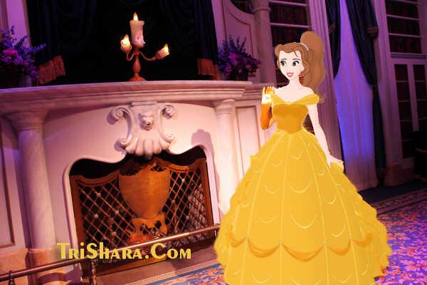 Принцесса Бэлль и чудовище