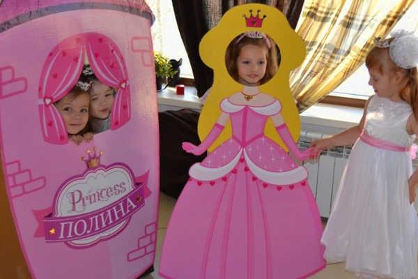 Фотосессия после праздника Принцесс