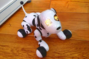 Робот в виде собачки