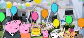 Свинка Пеппа устраивает праздник! День рождения в стиле популярного мультфильма
