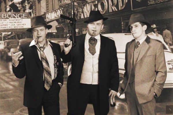 Мужские костюмы гангстеров