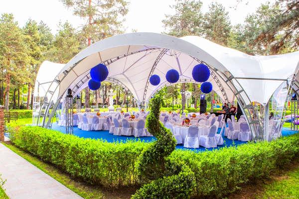 Арочный шатер для свадьбы