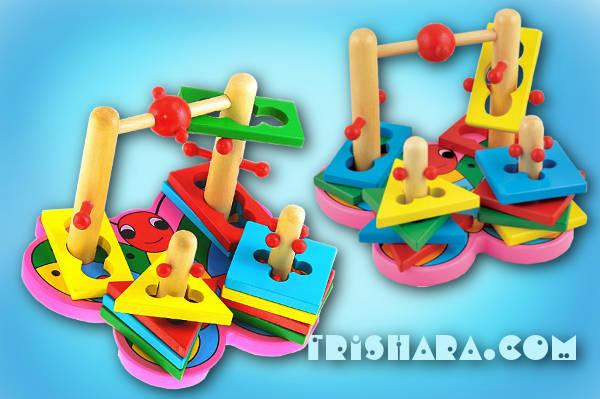 Бабочка - сортер фирмы Мир развивающих игрушек