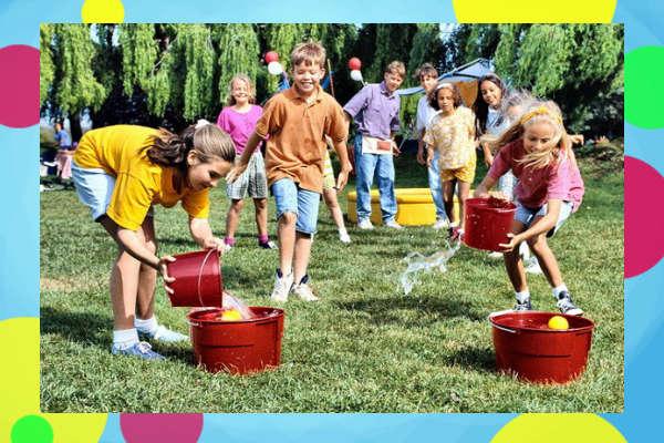 Эстафета на летний праздник для детей