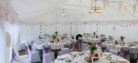 Раскинем свадебный полог? Нюансы организации свадьбы в шатре