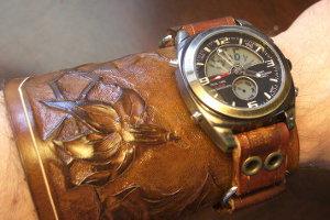 Ремешок часов из кожи