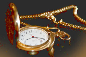 Медные часы - в подарок на 7 лет свадьбы