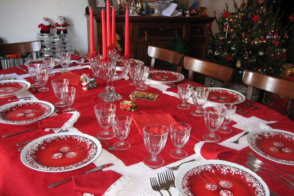 Большой стол на Новый год