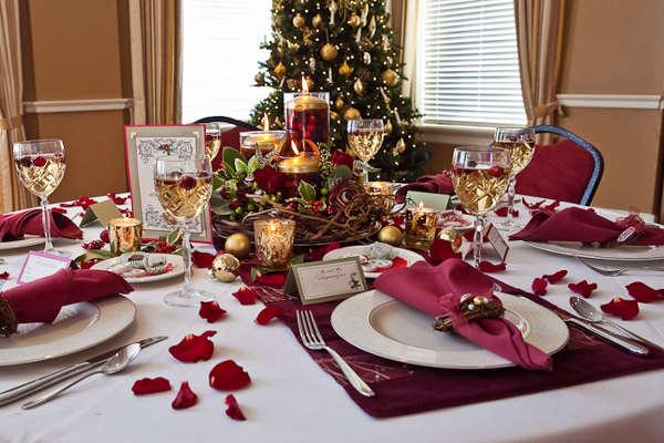 Организованный порядок на новогоднем столе