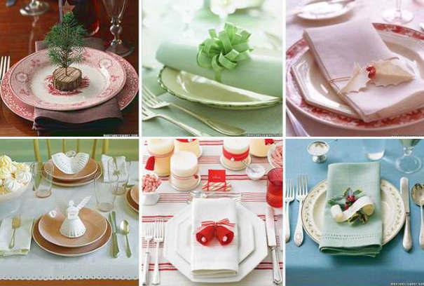 Декорирование тарелок на Новый год