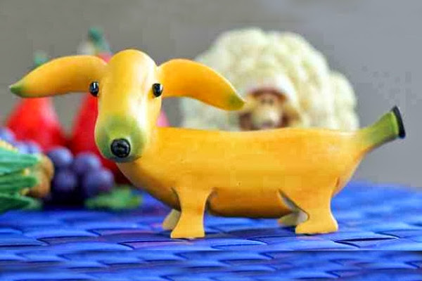 Блюда в виде собаки