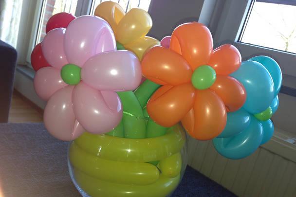 Букет из шаров для моделирования